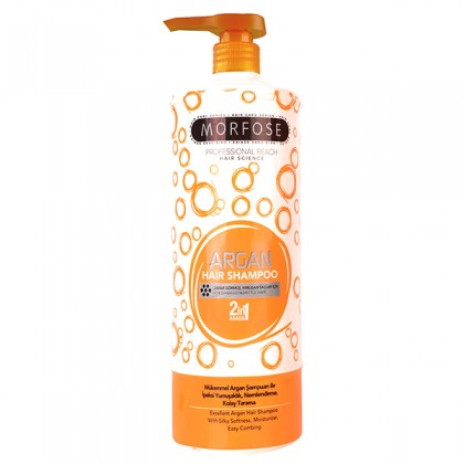 Morfose Bubble Hair Shampoo Argan 1000ml