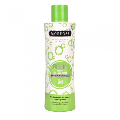 Morfose Bubble Hair Shampoo Biotin 230ml