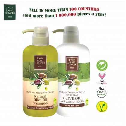 Eyup Sabri Tuncer Natural Olive Oil Shampoo 600ml
