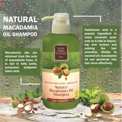 Eyup Sabri Tuncer Natural Macadamia Oil Shampoo 600ml
