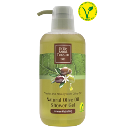 Natural Olive Oil Shower Gel 600ml