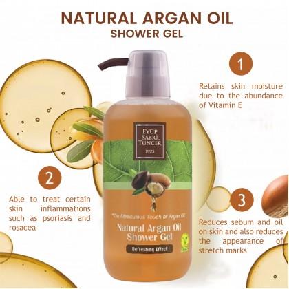 Eyup Sabri Tuncer Natural Argan Oil Shower Gel 600ml
