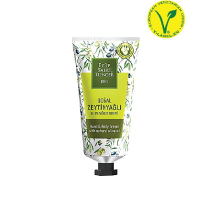 Eyup Sabri Tuncer Hand and Body Cream (Natural Olive Oil) Tube 50ml