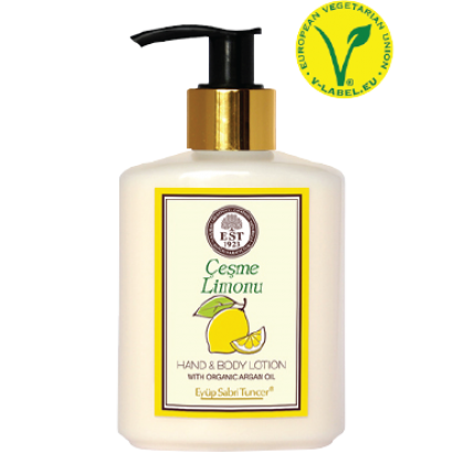 Hand and Body Lotion with Organic Argan Oil (Cesme Limonu) 250ml