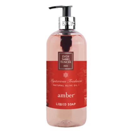 Eyup Sabri Tuncer Natural Olive Oil Liquid Soap (Amber) 500ml