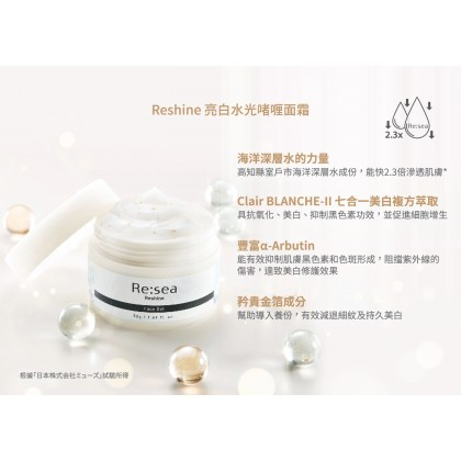Resea Reshine Face Gel 50g