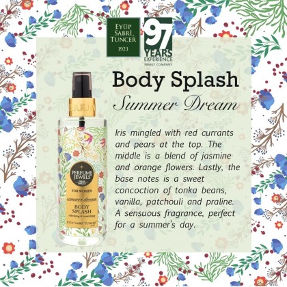 Eyup Sabri Tuncer Perfume Jewels Body Splash: Summer Dream 250ml