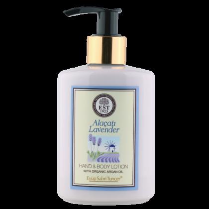 Eyup Sabri Tuncer Hand and Body Lotion with Organic Argan Oil (Alacati Lavender) 250ml