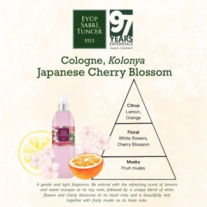 Eyup Sabri Tuncer Cologne-Hand Sanitiser Japanese Cherry Blossom 150ml (Spray)