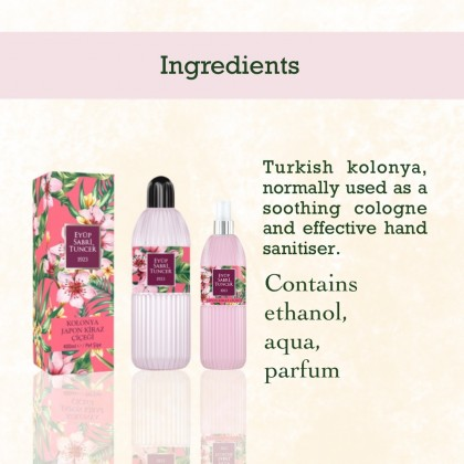 Eyup Sabri Tuncer Cologne-Hand Sanitiser Japanese Cherry Blossom 400ml