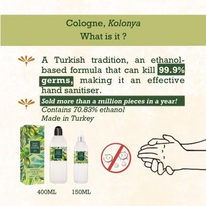 Eyup Sabri Tuncer Cologne-Hand Sanitiser Ayvalik Olive Blossom 400ml