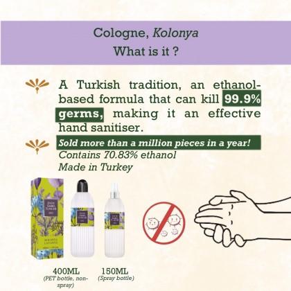Eyup Sabri Tuncer Cologne-Hand Sanitiser Lavender 400ml