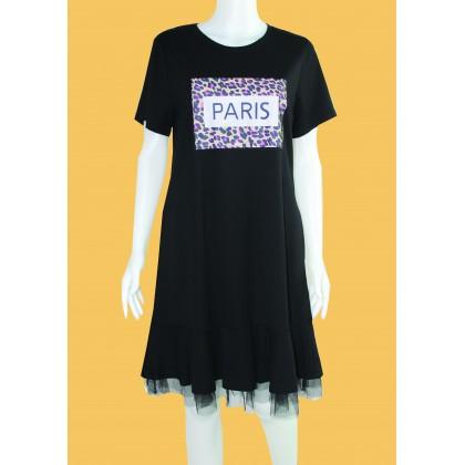 Round Neck Shirt Dress