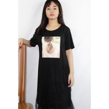 Women's Round Shirt Dress