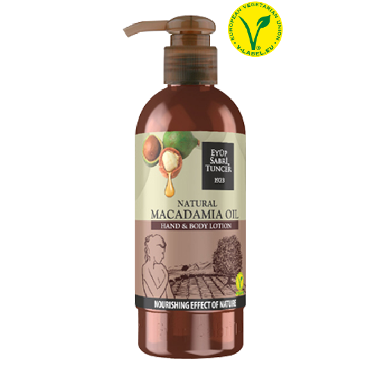 Eyup Sabri Tuncer Natural Macadamia Oil Hand and Body Lotion 250ml