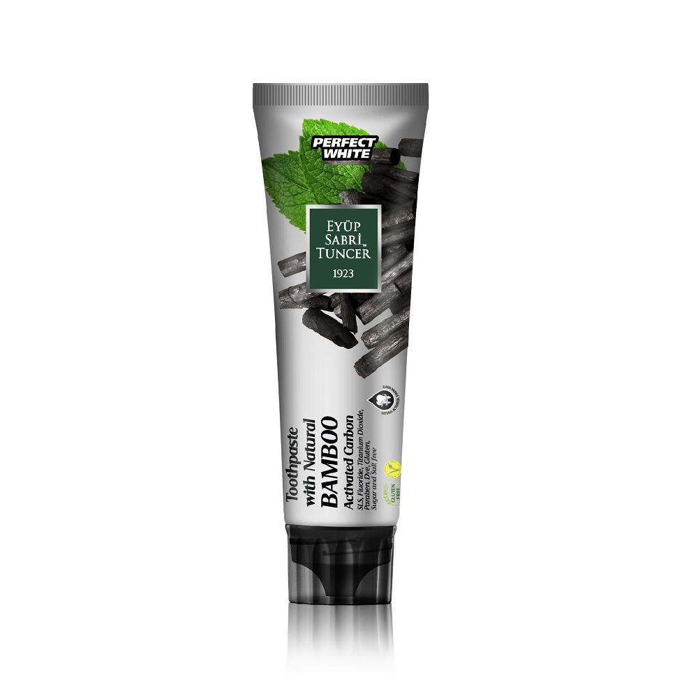Eyup Sabri Tuncer Natural Bamboo Activated Carbon Toothpaste 75ml