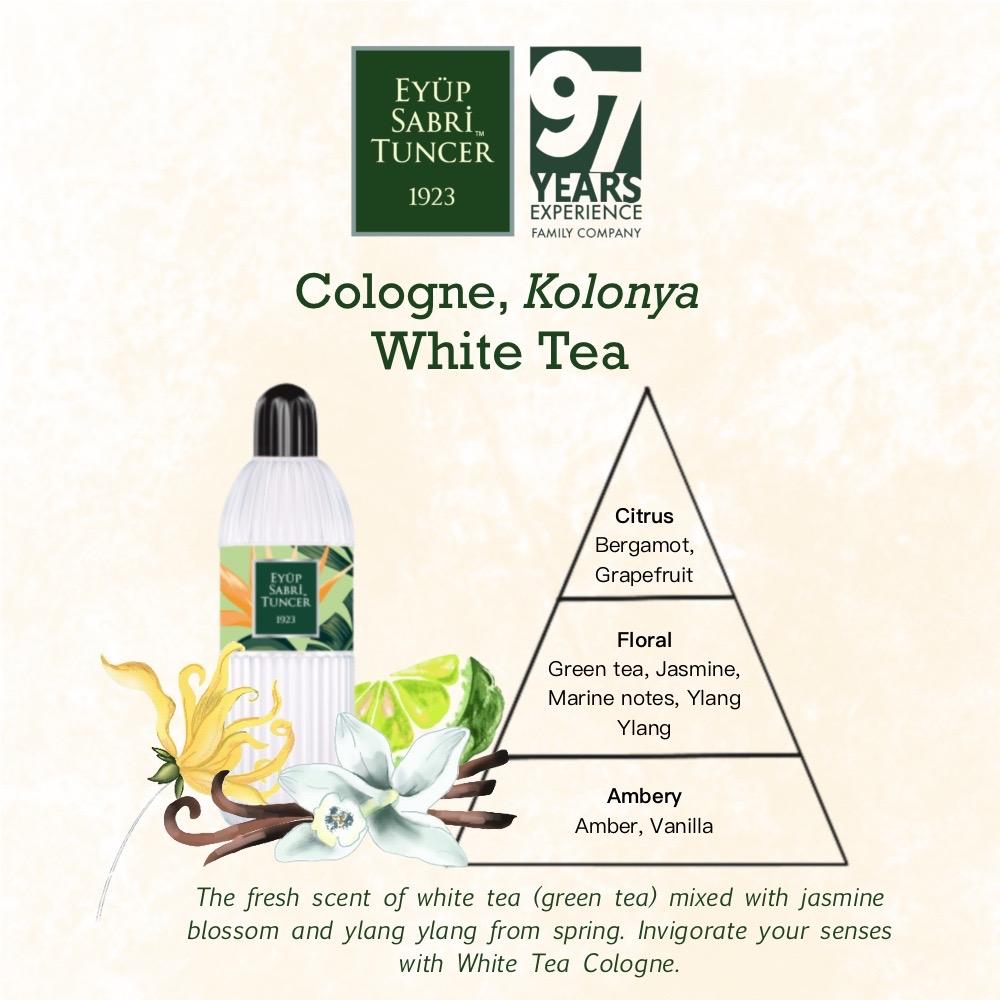 Eyup Sabri Tuncer Cologne-Hand Sanitiser White Tea 400ml