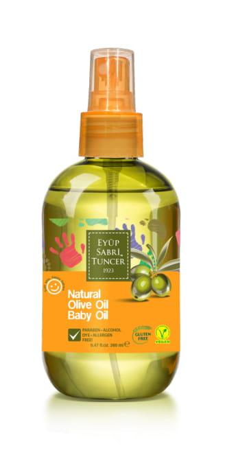 Eyup Sabri Tuncer Natural Olive Oil Baby Oil 280ml